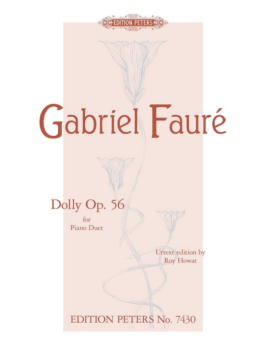 Dolly Opus 56. 4 mains - FAURÉ - Partition - Piano - laflutedepan.com