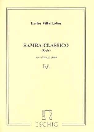 Samba Classico - VILLA-LOBOS - Partition - Mélodies - laflutedepan.com