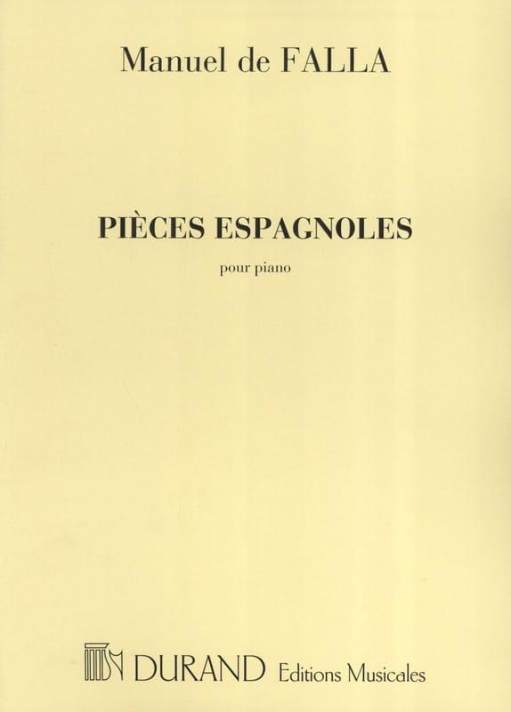 4 Pièces Espagnoles - DE FALLA - Partition - Piano - laflutedepan.com