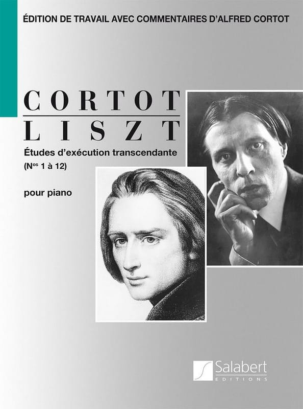 Etudes d'exécution transcendante - LISZT - laflutedepan.com