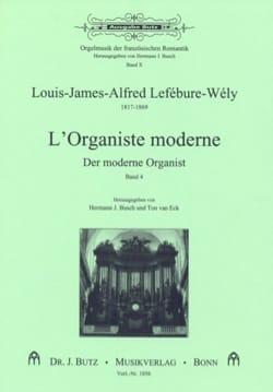 L'Organiste Moderne, Volume 4 LEFÉBURE-WÉLY Partition laflutedepan