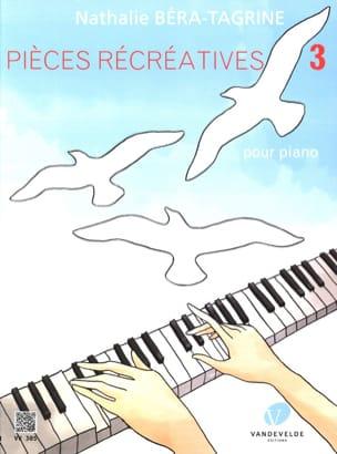 Pièces récréatives Volume 3 TAGRINE Partition Piano - laflutedepan