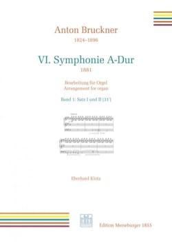 Symphonie n° 6. 1er et 2nd mouvement BRUCKNER Partition laflutedepan