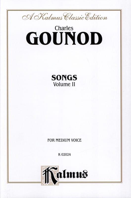 Songs Volume 2. Voix Moyenne - GOUNOD - Partition - laflutedepan.com
