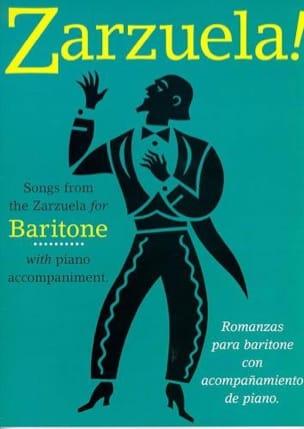 Zarzuela ! Baritone Partition Opéras - laflutedepan