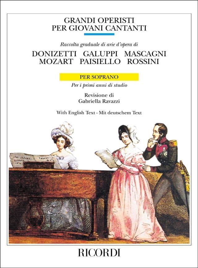 Grandi Operisti Per Giovani Cantanti. Soprano Volume 1 - laflutedepan.com
