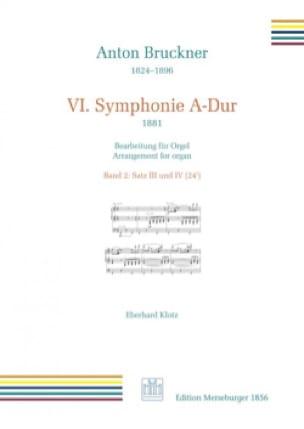Symphonie n° 6. 3ème et 4ème mouvement - BRUCKNER - laflutedepan.com