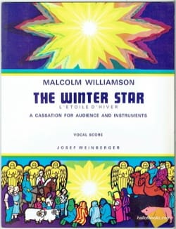 The Winter Star Malcolm Williamson Partition laflutedepan