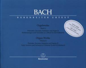 Orgelwerke. Band 6. Edition révisée BACH Partition laflutedepan