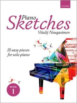 Piano Sketches Volume 1 - Vitalij Neugasimov - laflutedepan.com