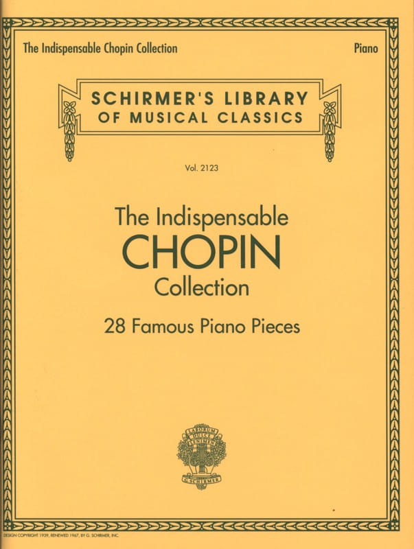 The Indispensable Chopin Collection - CHOPIN - laflutedepan.com