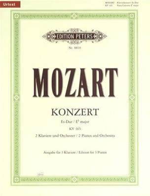 Concerto Pour Piano N° 10 En mi bémol Majeur Pour 2 Claviers KV 365 laflutedepan