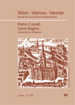 Salve Regina - Pietro CASSATI - Partition - laflutedepan.com