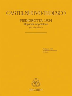 Piedigrotta 1924 Mario Castelnuovo-Tedesco Partition laflutedepan