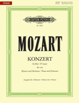 Concerto Pour Piano N° 22 En Mi Bémol Majeur K 482 MOZART laflutedepan