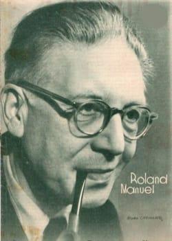 Benedictiones Roland-Manuel Partition Chœur - laflutedepan