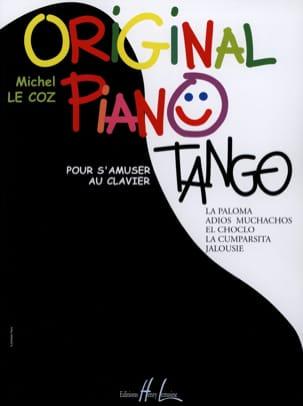Original Piano Tangos Michel LE COZ Partition Piano - laflutedepan