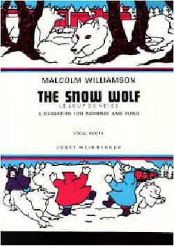 The Snow Wolf Malcolm Williamson Partition Pour enfants - laflutedepan