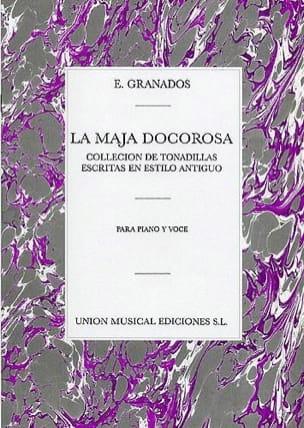 La Maja Dolorosa GRANADOS Partition Mélodies - laflutedepan