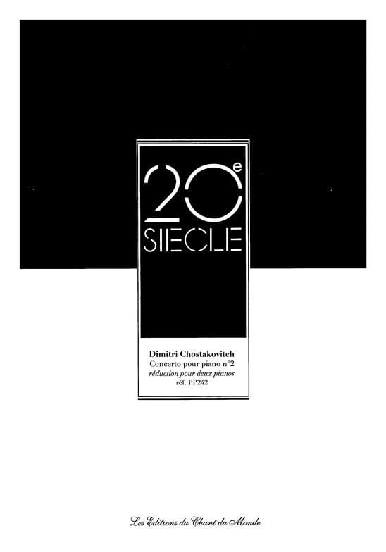 Concerto pour piano n° 2 Opus 102 - CHOSTAKOVITCH - laflutedepan.com