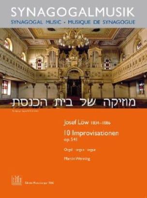 10 Improvisationen Op. 541 - Joseph Low - Partition - laflutedepan.com