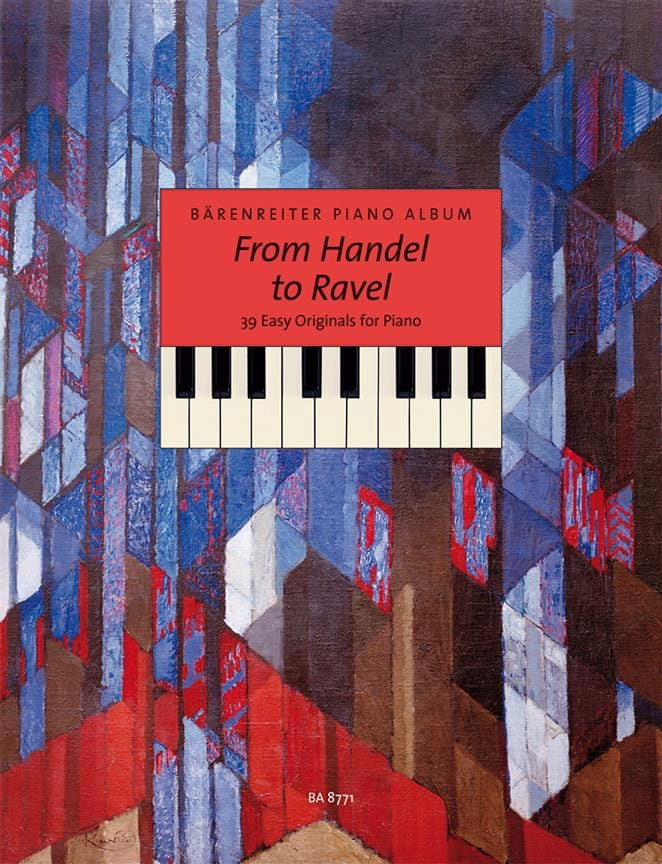 From Haendel to Ravel - Partition - Piano - laflutedepan.com