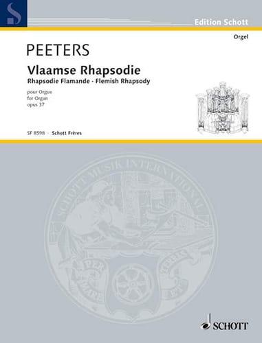 Rhapsodie Flamande Op. 37 - Flor Peeters - laflutedepan.com