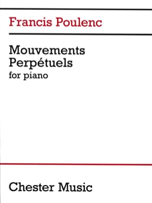 Francis Poulenc - 3 movimenti perpetui - Partition - di-arezzo.it