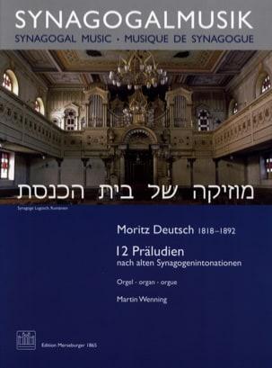 12 Präludien Moritz Deutsch Partition Orgue - laflutedepan