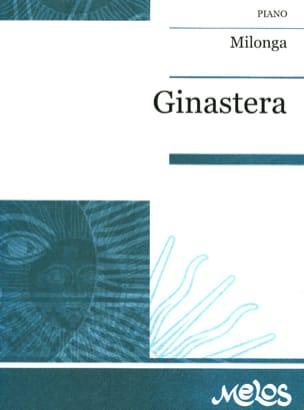Milonga op. 3 GINASTERA Partition Piano - laflutedepan