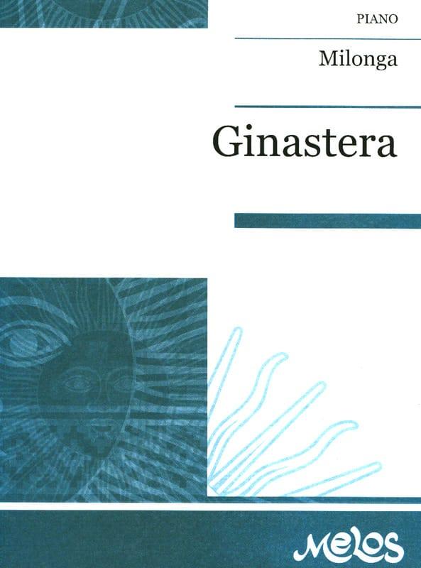 Milonga op. 3 - GINASTERA - Partition - Piano - laflutedepan.com