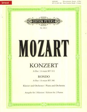 Concerto Pour Piano N° 12 En la Majeur K 414 et Rondo K 386 laflutedepan