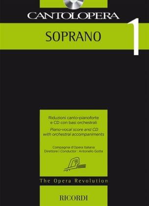 Cantolopera. Soprano 1 Partition Opéras - laflutedepan