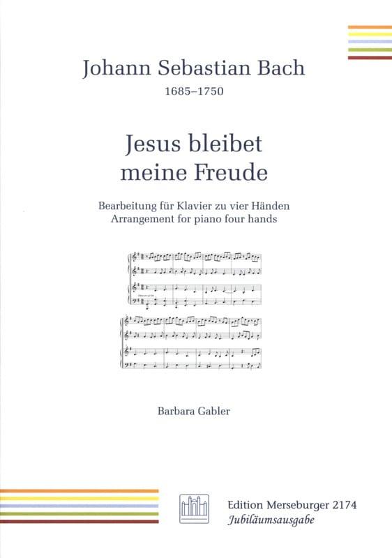 Jesus Bleibet Meine Freude. 4 mains - BACH - laflutedepan.com