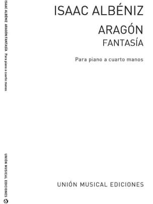 Aragon. 4 mains ALBENIZ Partition Piano - laflutedepan