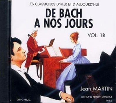 de Bach à nos Jours - Volume 1B - CD - laflutedepan.com