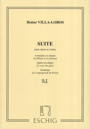 Suite Pour Chant et Violon VILLA-LOBOS Partition Violon - laflutedepan