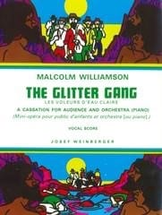 The Glitter Gang Malcolm Williamson Partition laflutedepan