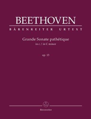 Sonate n° 8 Do mineur Opus 13 BEETHOVEN Partition Piano - laflutedepan