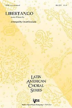 Libertango. SATB Astor Piazzolla Partition Chœur - laflutedepan