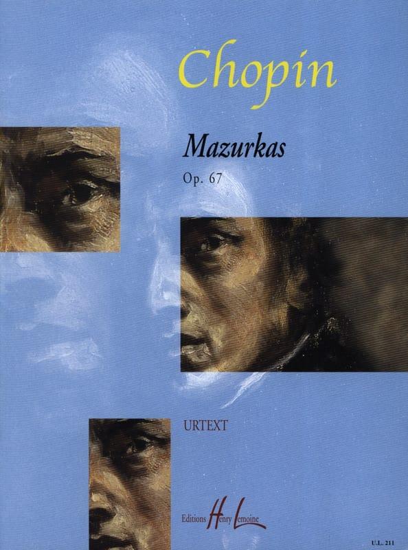 4 Mazurkas Opus 67 - CHOPIN - Partition - Piano - laflutedepan.com