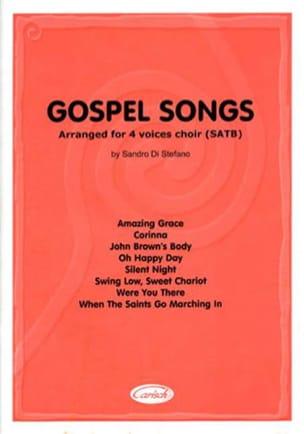 Gospel Songs Partition Chœur - laflutedepan