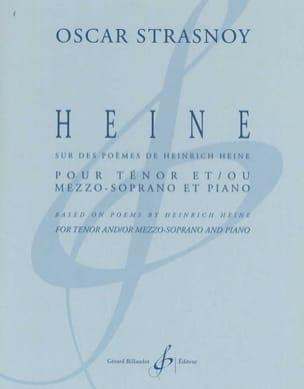 Heine Oscar Strasnoy Partition Mélodies - laflutedepan
