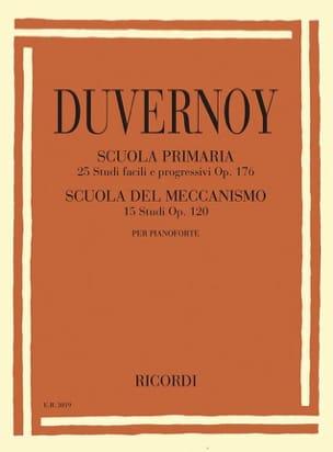 Jean-Baptiste Duvernoy - Estudios primarios op. 176 y estudios del mecanismo op. 120 - Partition - di-arezzo.es