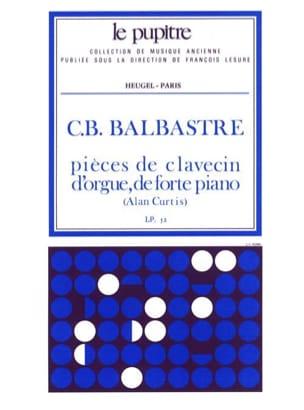 Pièces De Clavecin Balbastre Claude-Bénigne / Curtis Alan laflutedepan