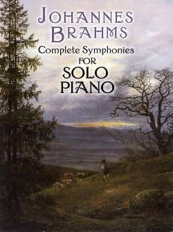 Complete Symphonies BRAHMS Partition Piano - laflutedepan