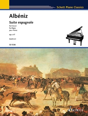 Suite Espagnole Opus 47 ALBENIZ Partition Piano - laflutedepan