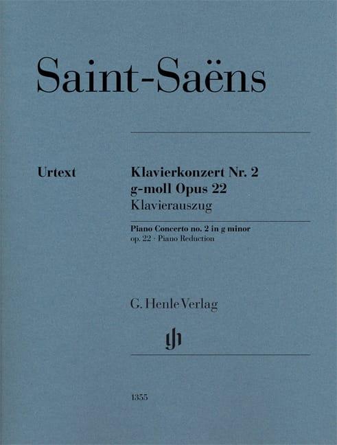 Concerto pour piano n° 2 Opus 22 - SAINT-SAËNS - laflutedepan.com