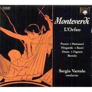 L' Orfeo MONTEVERDI Partition Grand format - laflutedepan