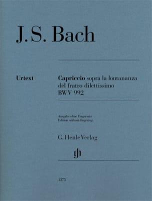 Capriccio sopra la lontananza del suo fratello dilettissimo BWV 992 laflutedepan